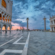 Sunrise at the Piazzetta San Marco and the Palazza Ducale - PhotoDune Item for Sale