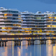 Modern apartment buildings at the river Spree - PhotoDune Item for Sale