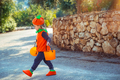 Kid Celebrating Halloween - PhotoDune Item for Sale