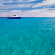 Cruise yacht bow in clear water near a coral reef. Red Sea, Egypt - PhotoDune Item for Sale
