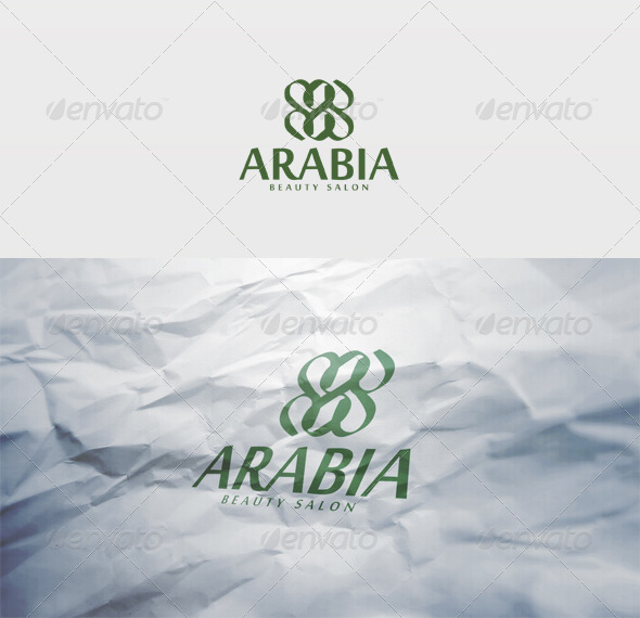 Arabia Logo - Vector Abstract