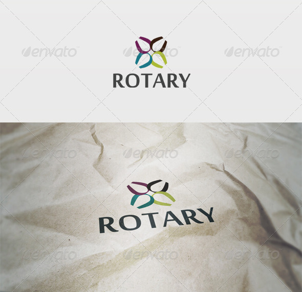 Rotary Logo - Vector Abstract