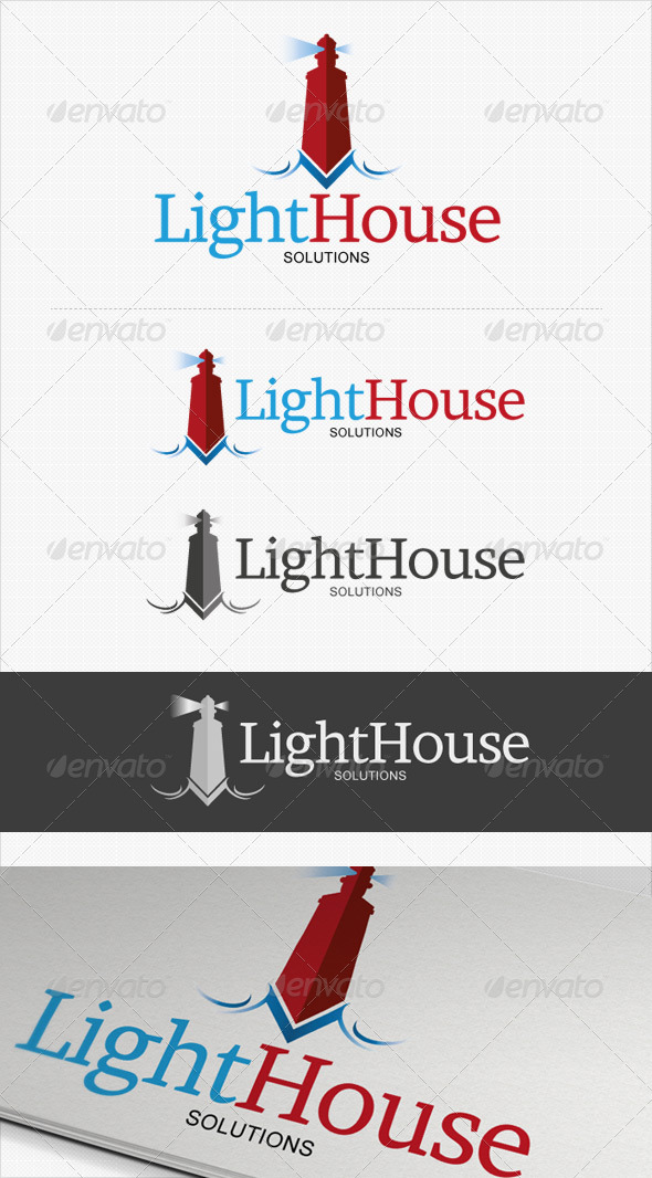 LightHouse Business Solutions logo - Symbols Logo Templates