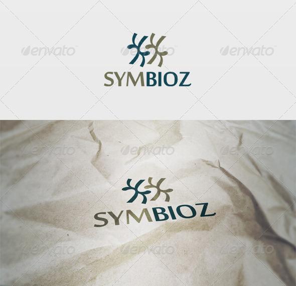 Symbioz Logo - Letters Logo Templates