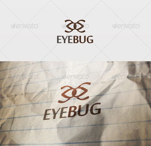 Eye Bug Logo - Symbols Logo Templates