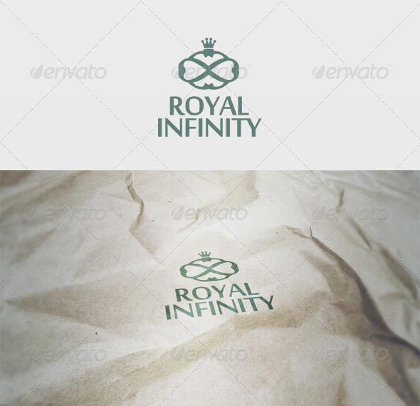 Royal Infinity Logo - Vector Abstract