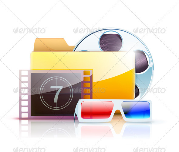 Digital video folder - Technology Conceptual