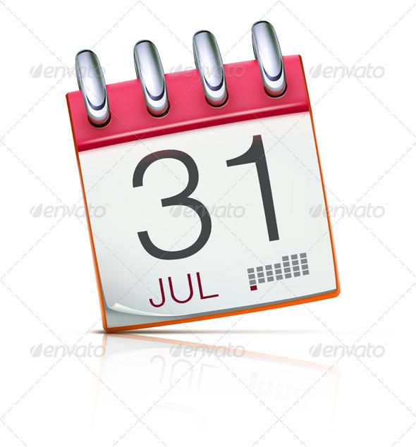 Calendar icon - Concepts Business