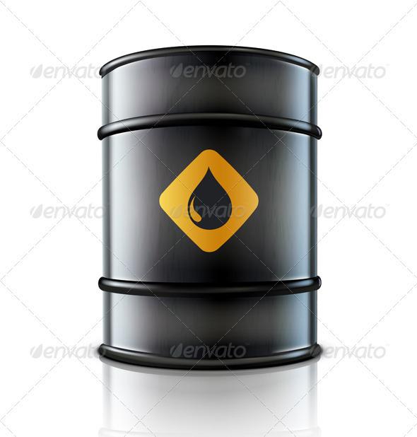 Oil barrel - Industries Business