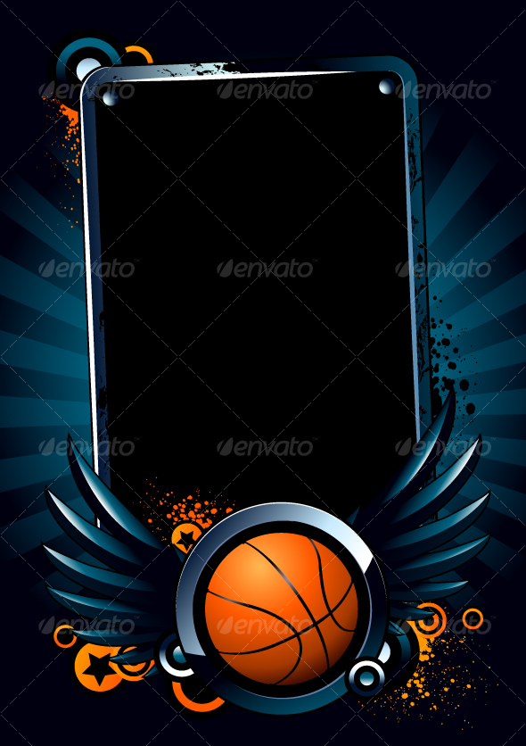 Basketball Banner - Sports/Activity Conceptual