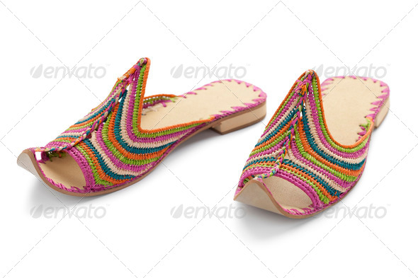 Moroccan slippers - Stock Photo - Images
