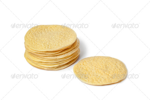 Heap of Moroccan pancakes - Stock Photo - Images