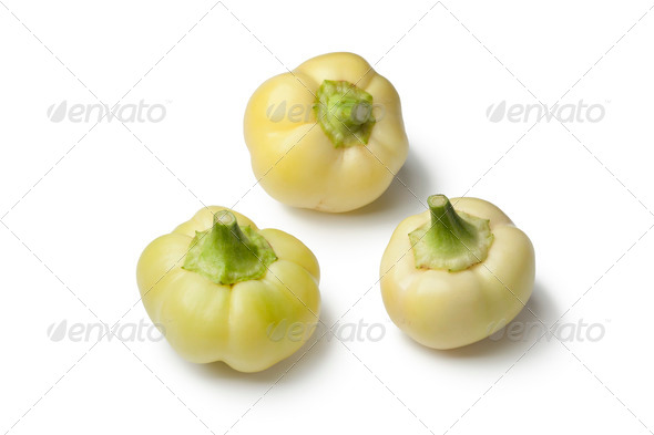 White bell peppers - Stock Photo - Images