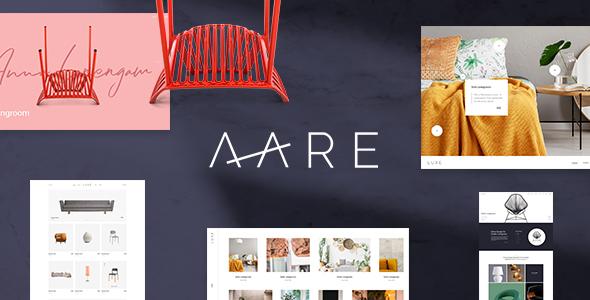 Aare - Furniture Store WordPress Theme