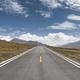 beautiful road on plateau - PhotoDune Item for Sale