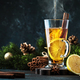 Christmas or New Year hot winter drink, spicy grog cocktail, sangria or mulled wine - PhotoDune Item for Sale