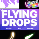 Flying Drops | FCPX - VideoHive Item for Sale