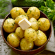 Boiled potatoes with dill and butter - PhotoDune Item for Sale