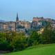 Edinburgh Castle Panorama At Dawn - PhotoDune Item for Sale