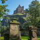 Edinburgh Castle And Ancient Cemetery - PhotoDune Item for Sale