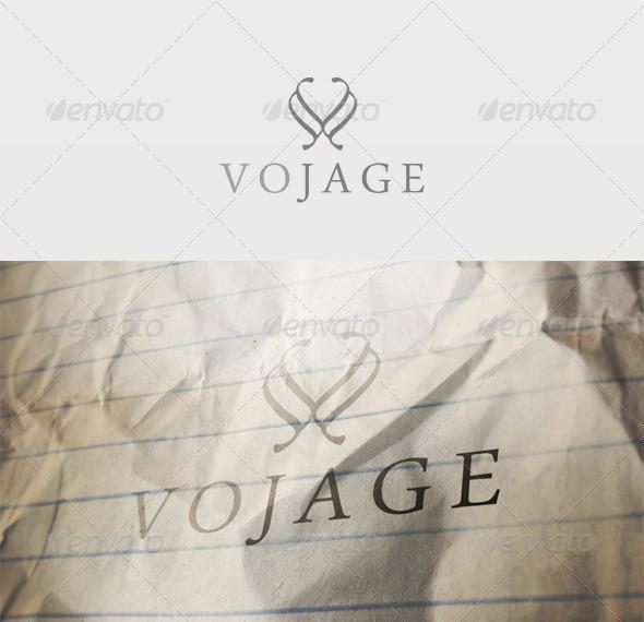 Vojage Logo - Letters Logo Templates