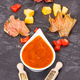 Pumpkin sauce or ketchup as addition to dishes, ingredients and spices - PhotoDune Item for Sale