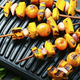 Grilled vegetable shish kebab - PhotoDune Item for Sale