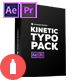 Kinetic Typo Pack - VideoHive Item for Sale