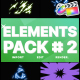 Energy Elements Pack 02 | FCPX - VideoHive Item for Sale