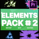 Energy Elements Pack 02 | Premiere Pro MOGRT - VideoHive Item for Sale