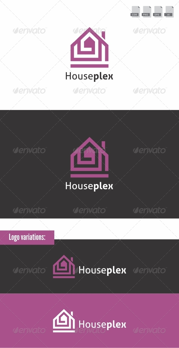 Houseplex - Buildings Logo Templates