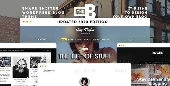 TheBlogger WordPress Theme