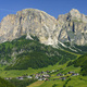 Mountain landscape along the road to Campolongo pass, Dolomites - PhotoDune Item for Sale
