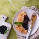 Sweet homemade galette pie with blueberry - PhotoDune Item for Sale