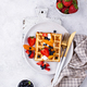 Waffles with berries and fruit - PhotoDune Item for Sale