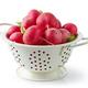 fresh ripe radish in white colander - PhotoDune Item for Sale