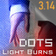 Dots - Light Burns & Transitions - VideoHive Item for Sale