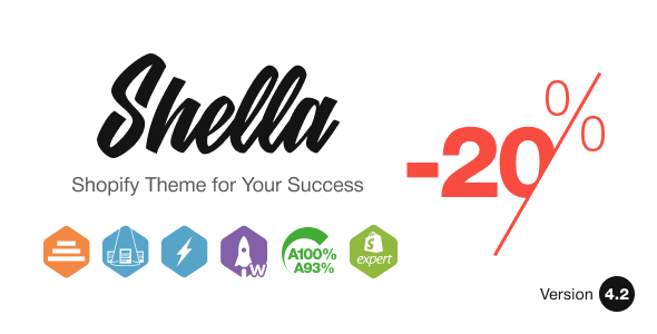 Shella - Multipurpose Shopify theme, fastest with the banner builder Nulled