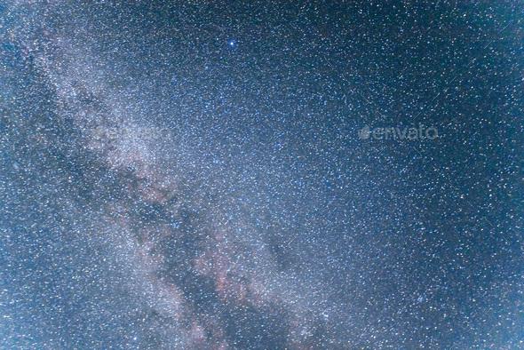 deep sky astrophoto. Beauty world. Carpathians Ukraine Europe. - Stock Photo - Images