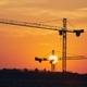 Building activity on contruction site at sunrise - PhotoDune Item for Sale
