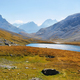 Col de la Vanoise and Rond lake in Vanoise national park, France - PhotoDune Item for Sale