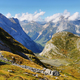 View of mountains in Vanoise national park of french alps, France - PhotoDune Item for Sale