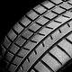 New wheel tire close-up on black - PhotoDune Item for Sale