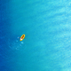 Yellow packraft rubber boat and turquoise water - PhotoDune Item for Sale