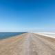dirt road with salt lake - PhotoDune Item for Sale