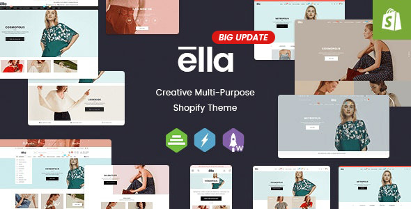 Exceptional Ella - Multipurpose Shopify Sections Theme