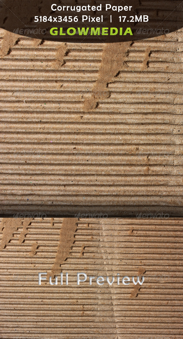 Corrugated Paper - Paper Textures