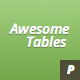 Tables - GraphicRiver Item for Sale