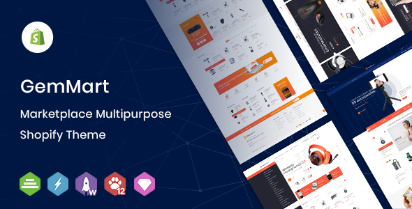 GemMart - Marketplace Multipurpose Shopify Theme
