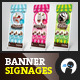 My Ice Cream Store - Outdoor Banner Signage - GraphicRiver Item for Sale